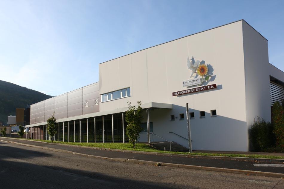 Blanchisserie ESAT-EA Les Tournesols à Sainte-Marie-aux-Mines